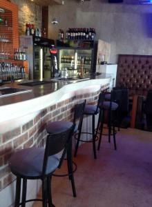 Inside Lounge Eden on the Bay