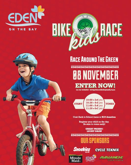 kiddies bike race