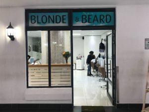 Blonde & Beard