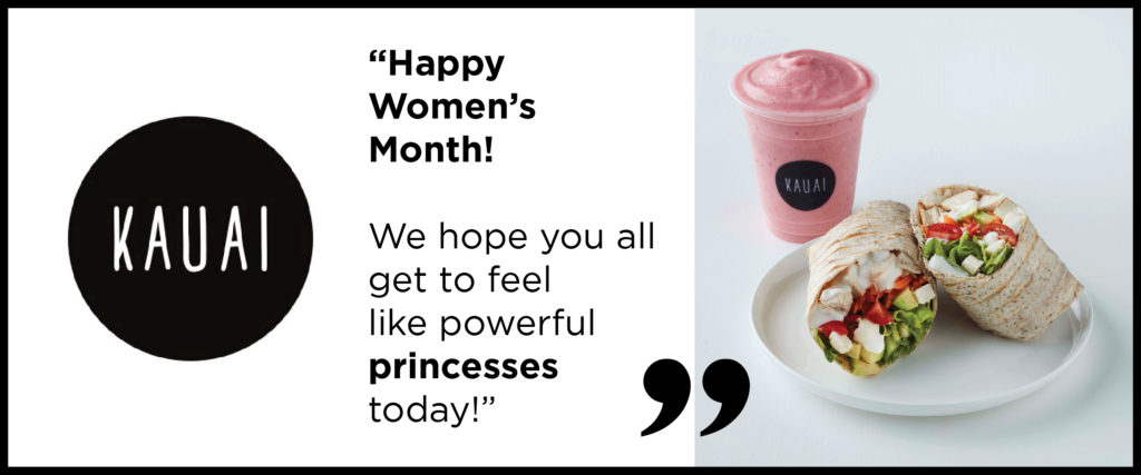 Women's Month Promotions